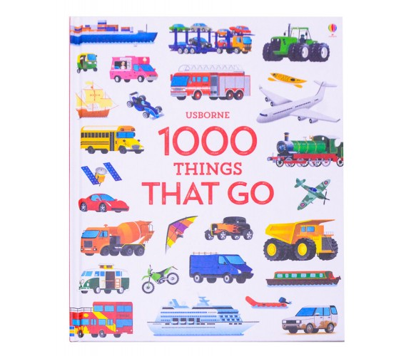 Usborne - 1000 Things that go