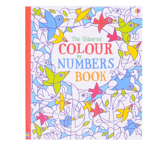 Usborne - Colour by numbers book