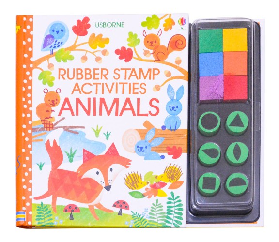 Usborne - Rubber stamp activities animals