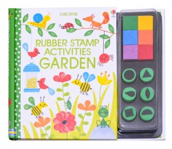 Usborne - Rubber stamp activities garden