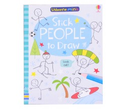 Usborne Minis - Stick people to draw