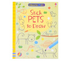 Usborne Minis - Stick pets to draw