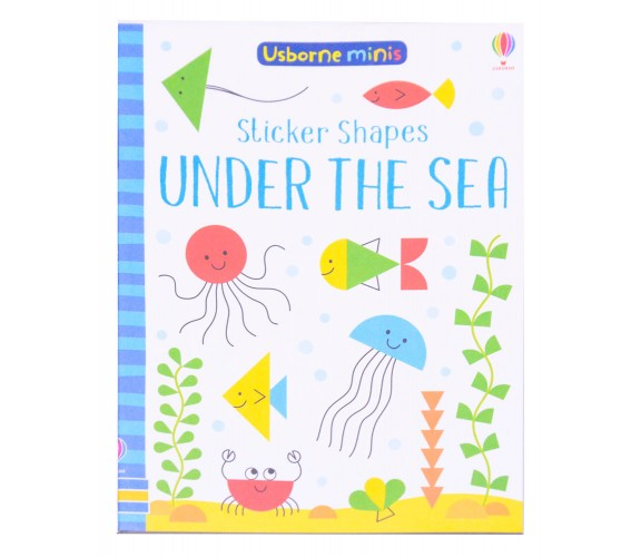 Usborne Minis - Sticker shapes under the sea