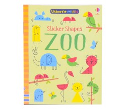 Usborne Minis - Sticker shapes zoo