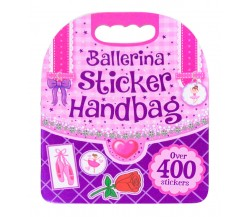 Ballerina Sticker Handbag - Over 400 Stickers