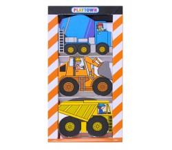 Playtown : Construction Chunky Set - 3 Board Books