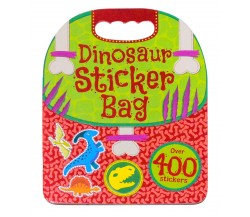 Dinosaur Sticker Bag - Over 400 Stickers