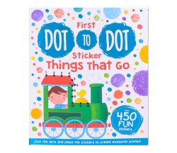 My First Sticker Dot-to-Dot Things That Go