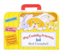 My Cuddly Friends Board Book - 4 press-out, slot together