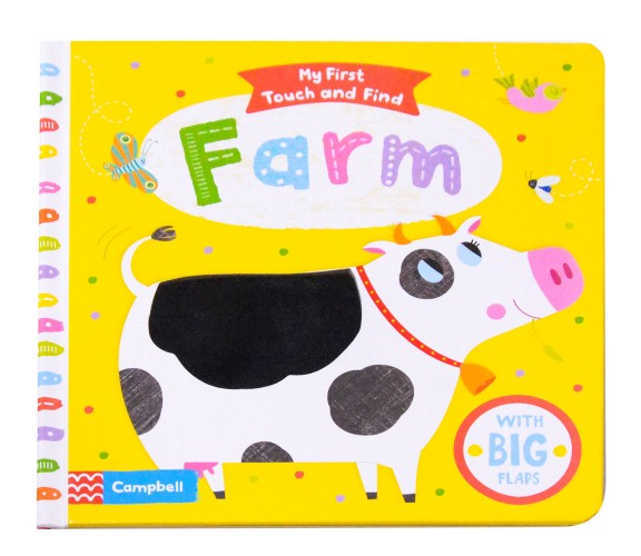 My First Touch and Find Board Book : Farm - With Big Flaps