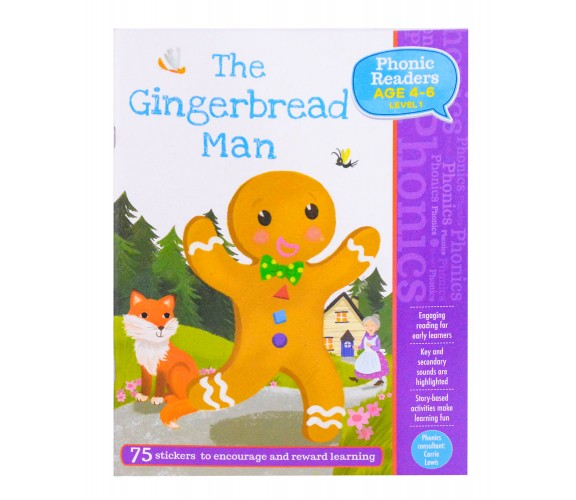 The Gingerbread Man - LV1 Phonic Readers Age 4-6