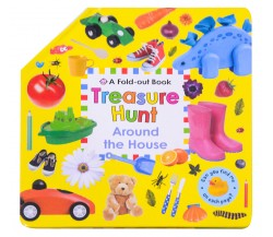 Fold Out Book - Treasure Hunt Around the House