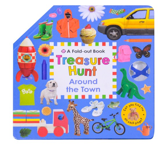 Fold Out Book - Treasure Hunt Around the Town