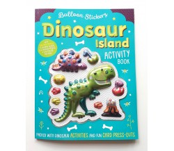 Balloon Stickers Dinosaur Island Activity Book