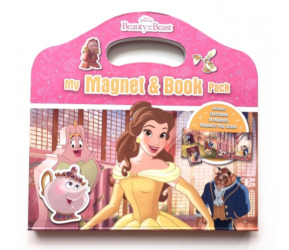 Disney Princess Beauty and the Beast : My Magnet & Book Pack