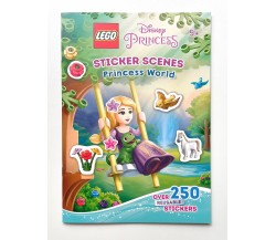 Lego Disney Princess: Sticker Scenes Princess World (over 250 REUSABLE Sticker)