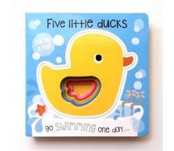Pop Out and Play: Five Little Ducks Board Book
