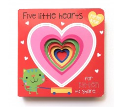 Pop Out and Play: Five Little Hearts Board Book