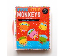 Five Little Monkeys and Other Counting Rhymes Touch and Feel Board Book