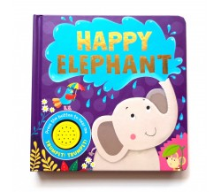 Happy Elephant Sound Board Book