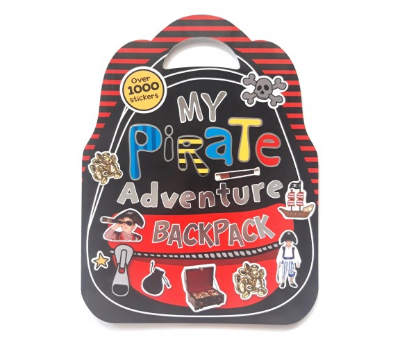 My Pirate Adventure Backpack with over 1000 stickers