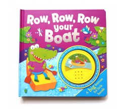 Row, Row, Row Your Boat Big Button Sound Board Book