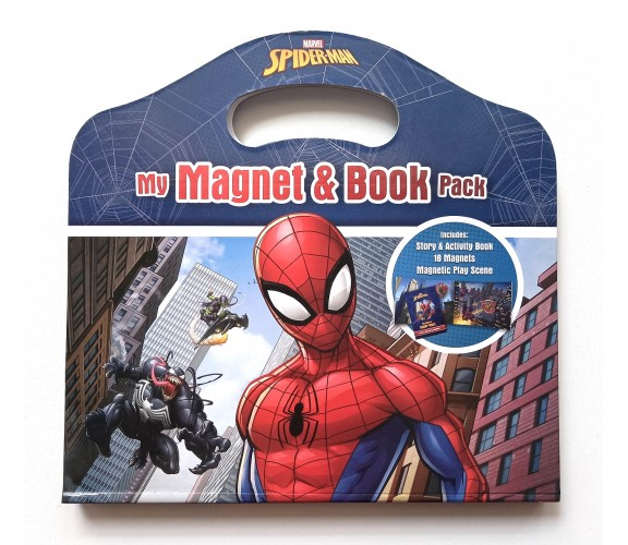 Marvel Spider-Man : My Magnet & Book Pack