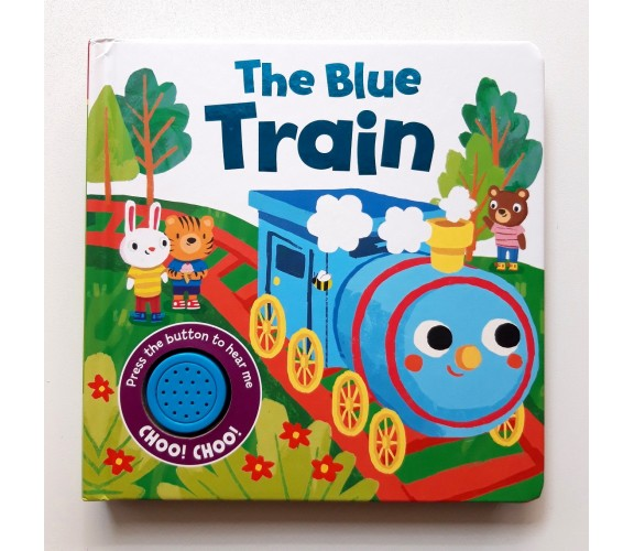 The Blue Train Sound Board Book