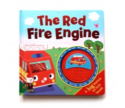 The Red Fire Engine Big Button Sound Board Book