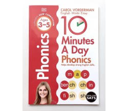 10 Minutes A Day Phonics Ages 3-5