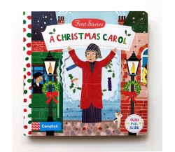 Campbell - First Stories : A Christmas Carol - Push, Pull, Slide Book