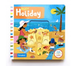 Campbell - Busy Holiday - Push, Pull, Slide Book