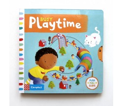 Campbell - Busy Playtime - Push, Pull, Slide Book