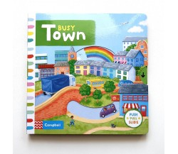 Campbell - Busy Town - Push, Pull, Slide Book