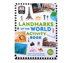 Little Travellers Landmarks of the World Activity Book