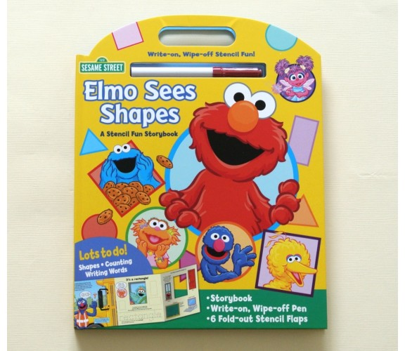 Sesame Street Elmo Sees Shapes