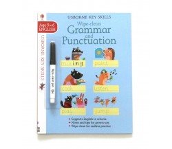 Usborne - Wipe-clean grammar and punctuation 5-6