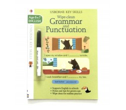 Usborne - Wipe-clean grammar and punctuation 6-7