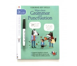 Usborne - Wipe-clean grammar and punctuation 7-8