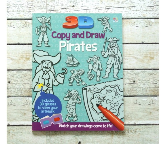 3D Copy and Draw Pirates