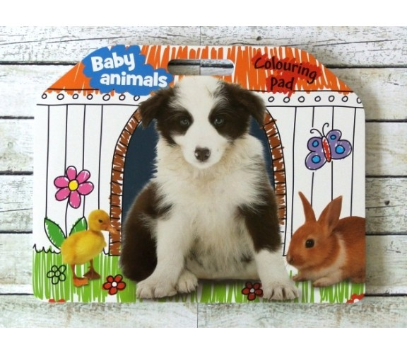 Baby Animals Colouring Pad