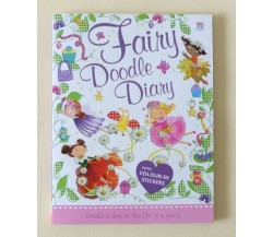 Fairy Doodle Diary with Colour in Stickers