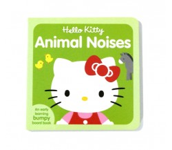 Hello Kitty Animal Noises - Board Book with Bumpy Pictures