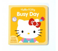 Hello Kitty Busy Day - Board Book with Bumpy Pictures