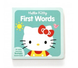 Hello Kitty First Words - Board Book with Bumpy Pictures