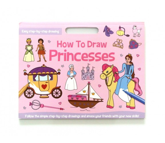 How to Draw Princesses - Easy Step by Step Drawing