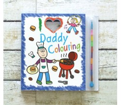 I Love Daddy Colouring