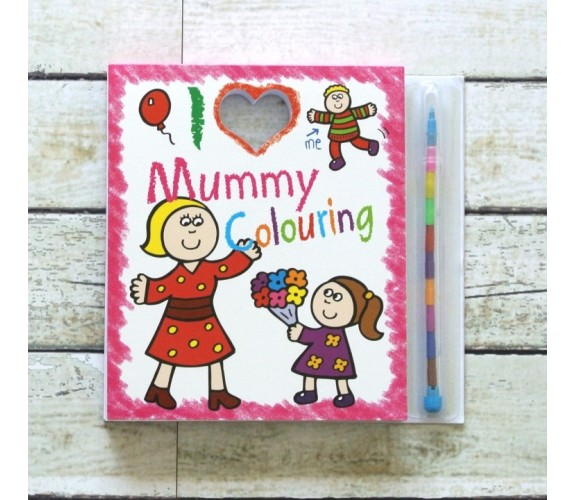 I Love Mummy Colouring