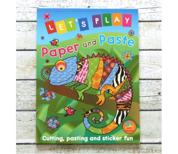 Let's Play Paper and Paste (Chameleon)