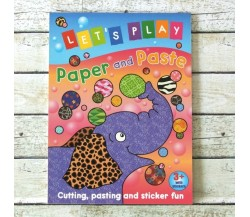 Let's Play Paper and Paste (Elephant)